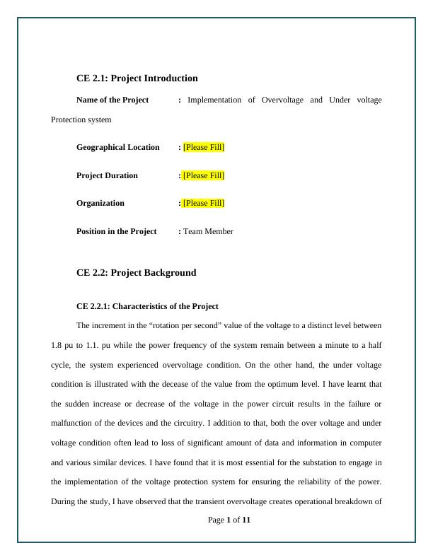 [PDF] Competency Demonstration Report (CDR)