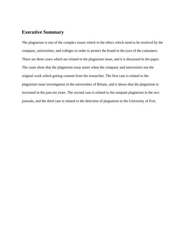 Paper: Case of Plagiarism in UK news