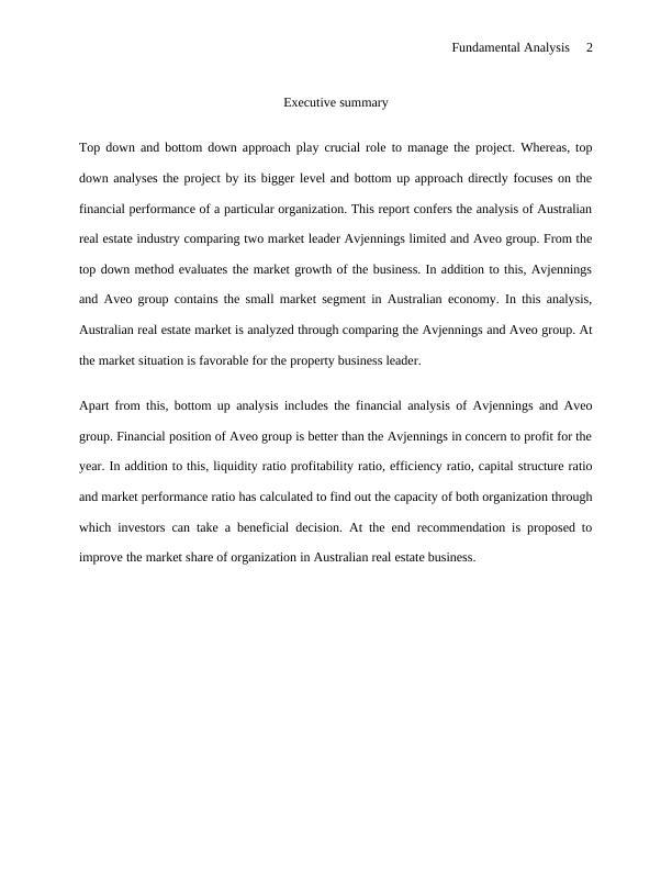 Principles of Financial Market Assignment