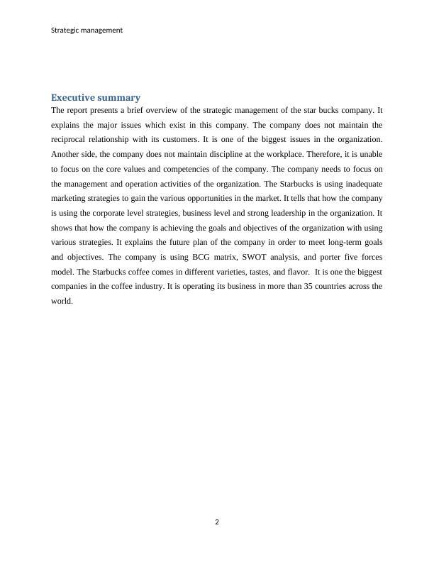 MA616 Strategic Management
