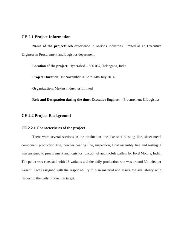(Solution) Competency Demonstration Report : PDF