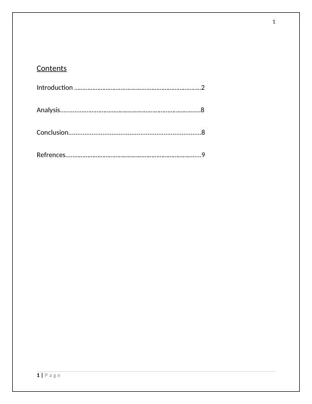 Companies Analysis Report Assignment