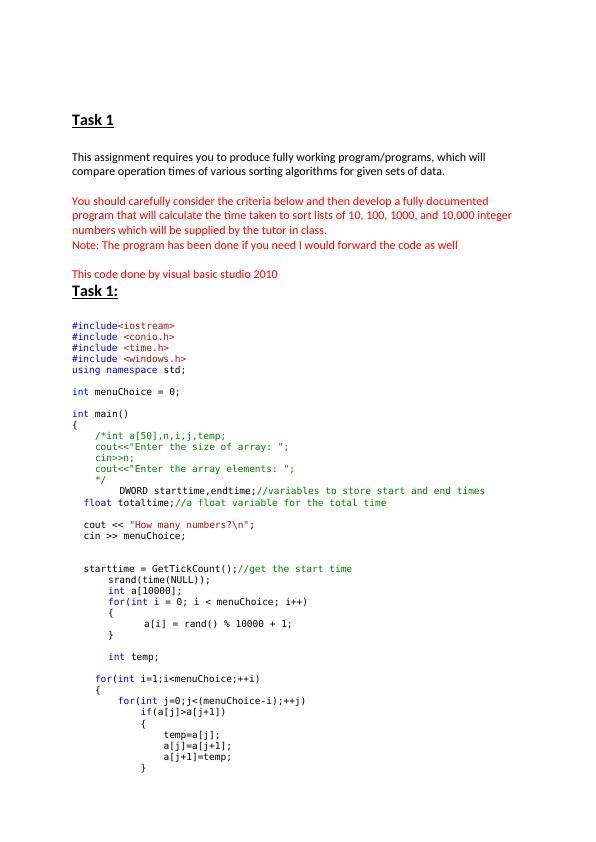 Data structure & algorithms.
