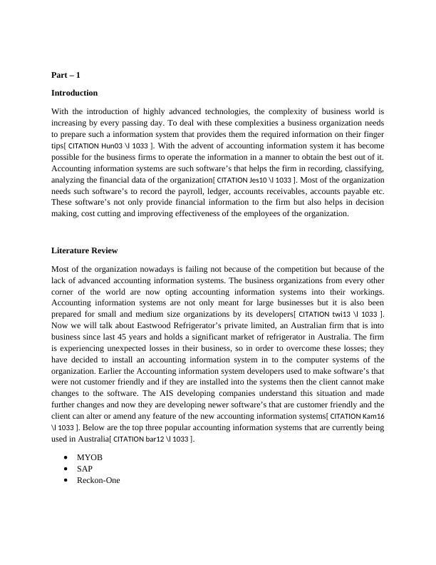 HI5019 Strategic Information System: Assignment