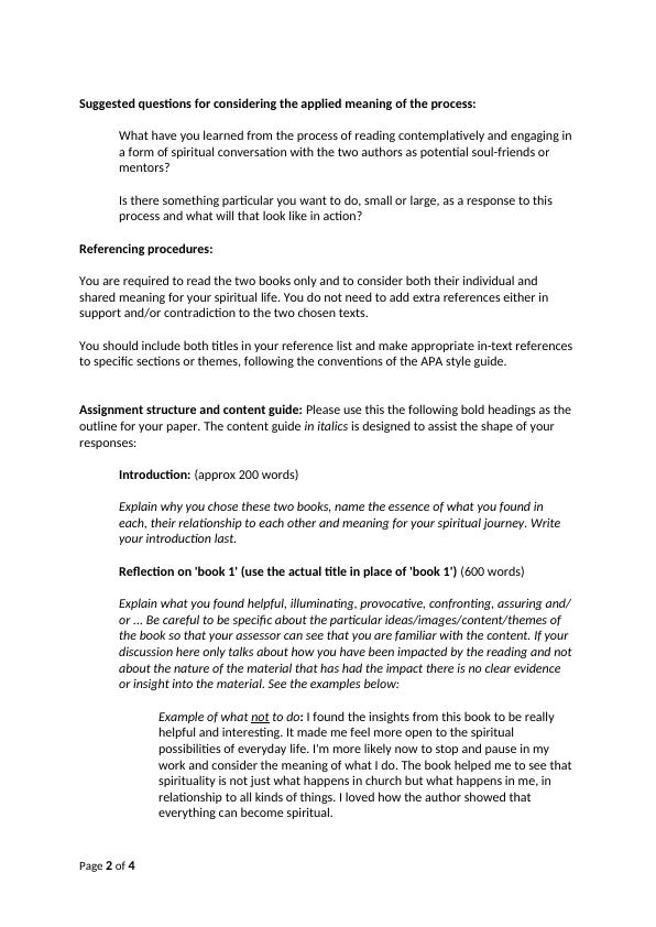 SS5104 EPSF - Assessment 3: Comparative reading-response paper.