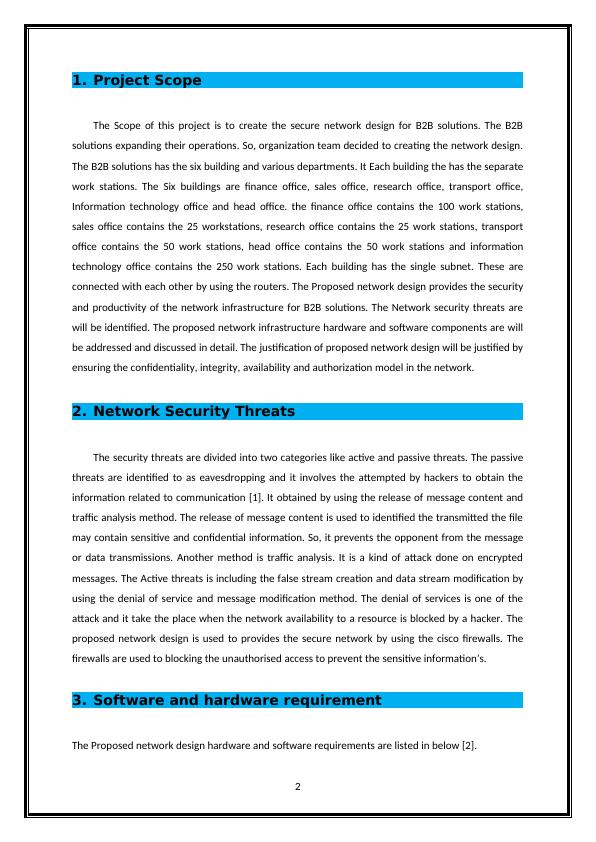 Network Security Design Assignment