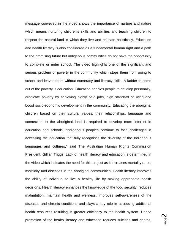 Healthy child development  Assignment PDF