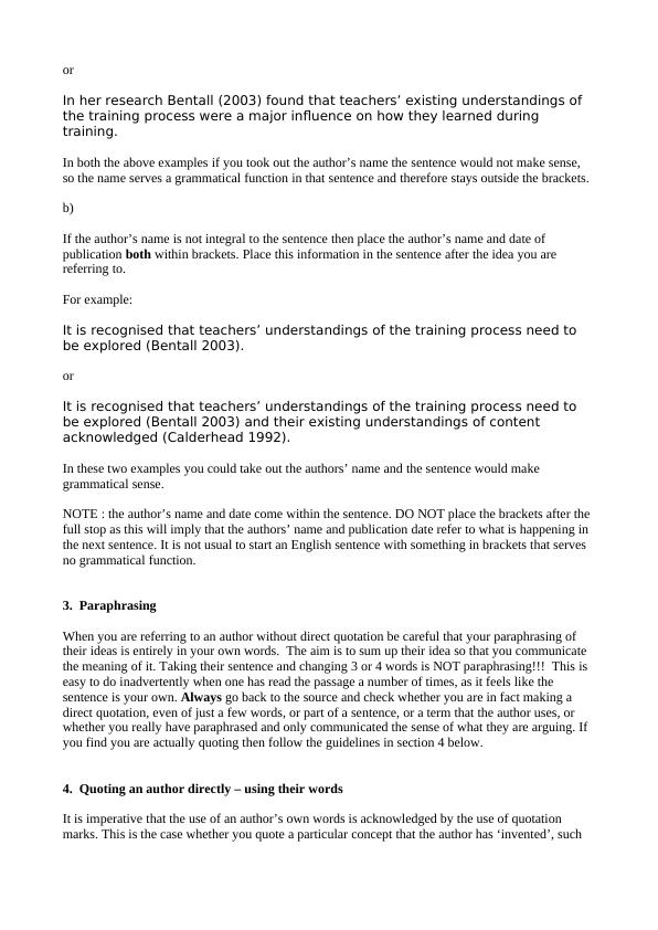 Guidelines on Referencing Literature in Academic Writing