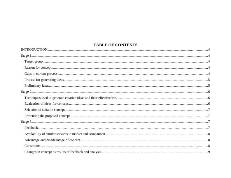 Report on Business Concept for Courier Company