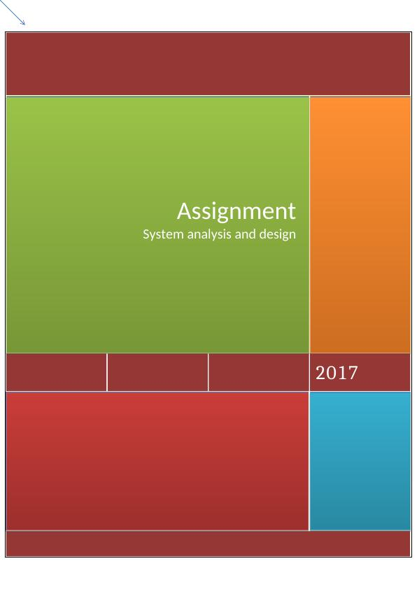 Assignment System Analysis And Design