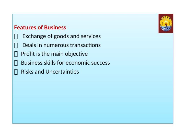 Introduction to International Business Unit 1