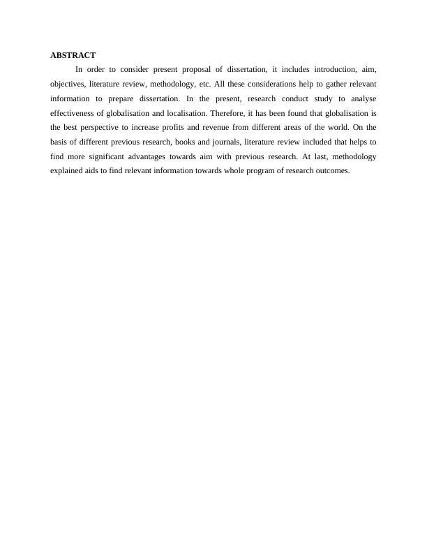 Globalization and Localization - Glocalisation