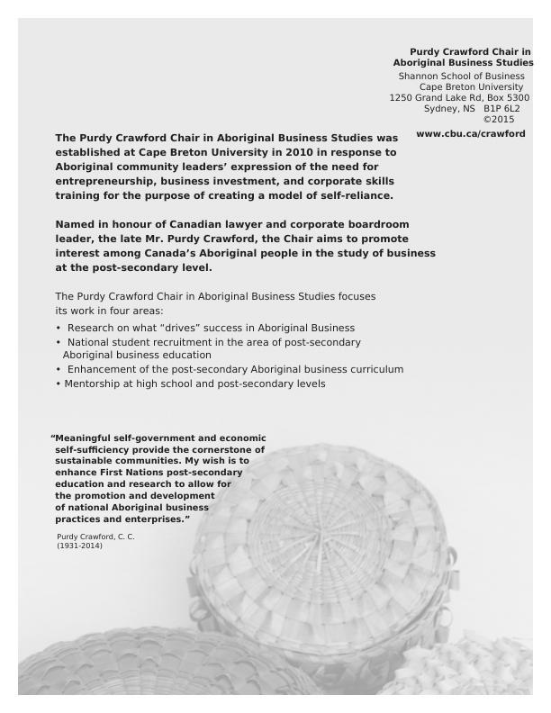 Case Studies in Aboriginal Business pdf