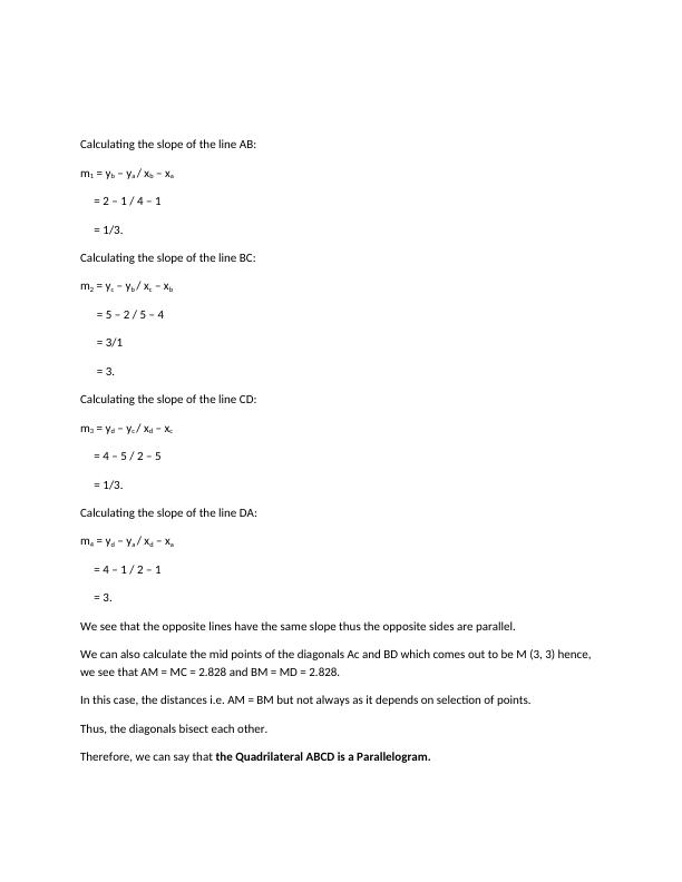 MATHEMATICS FOR COMPUTING COURSEWORK.
