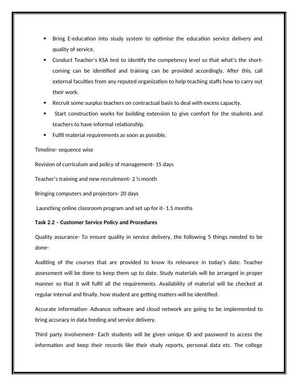Shabby College Simulation Work Report