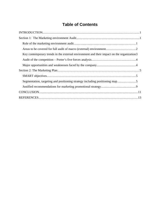 (PDF) MARKETING MANAGEMENT RESEARCH ASSIGNMENT