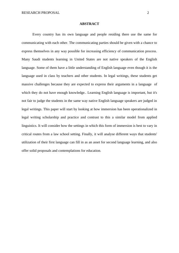 Paper on Code Switching in the Legal Writings of Saudi Students