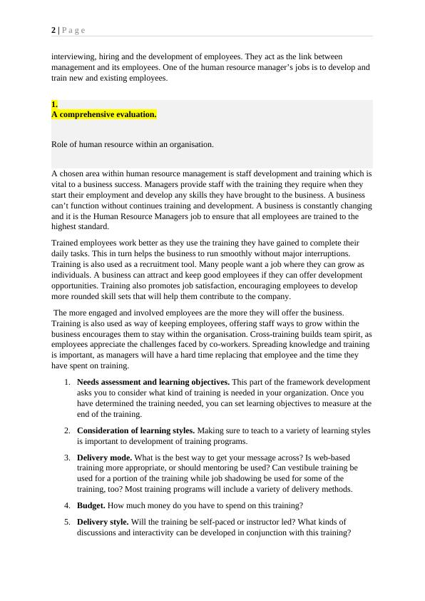 6N4310 Business Management Assignment