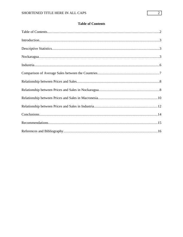 Assignment on Business Statistics PDF