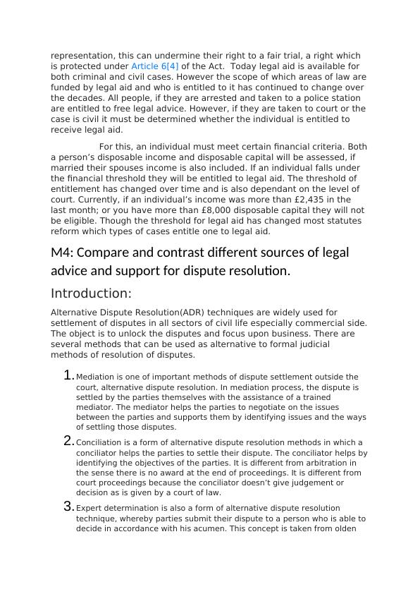 LO4: Recommend Appropriate Legal Solutions