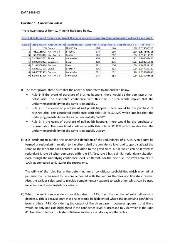Data Mining | Study