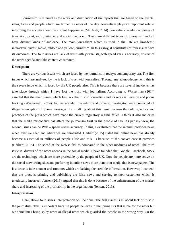 Essay on Journalism | Journalism Essays