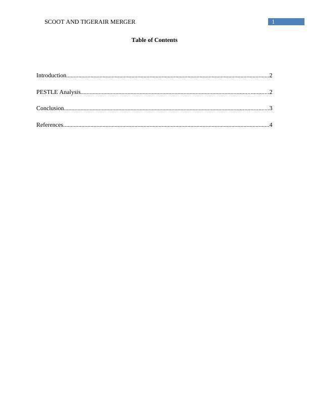 PESTLE Analysis Assignment