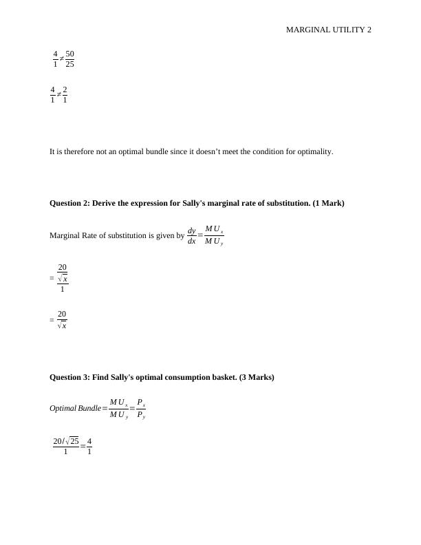 Assignment on Price Theory