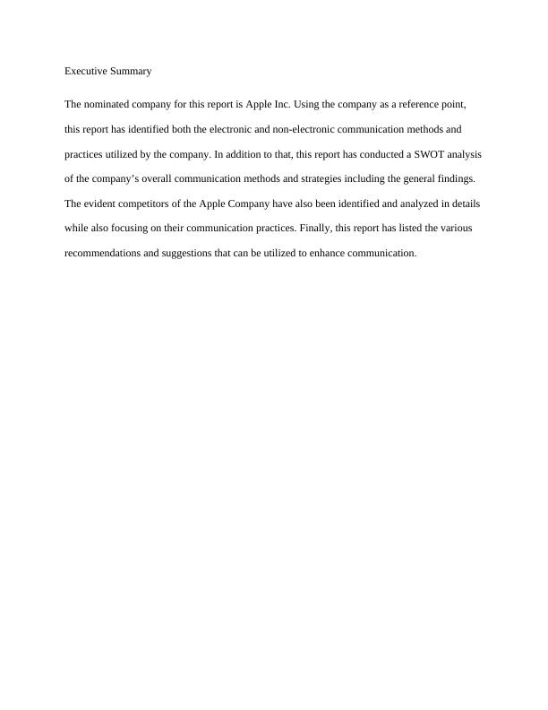 Sample Assignment on Management