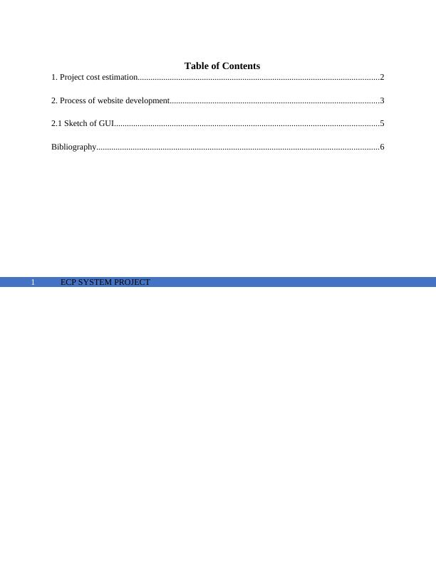 Process of Website Development - Doc
