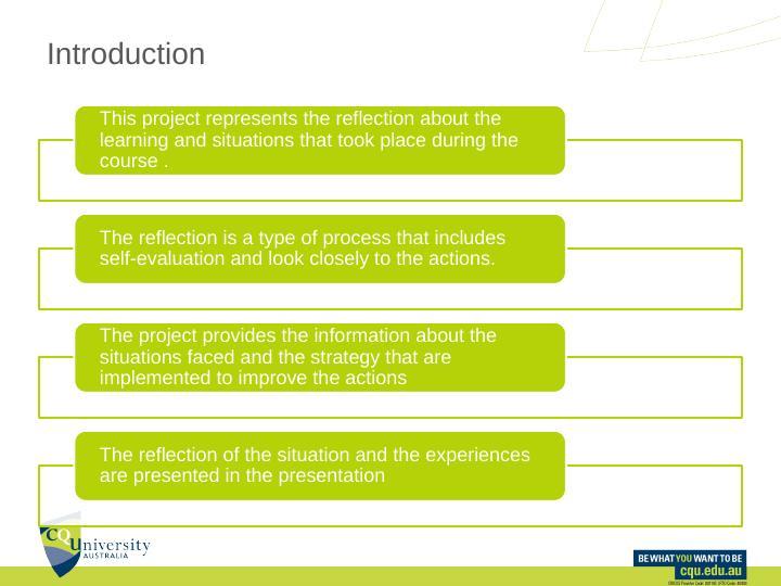 PPMP20008. Lessons Learnt Presentation. Assessment 3. -