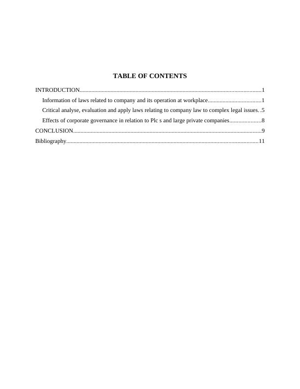 Concept of Corporate Governance in UK Law Essay