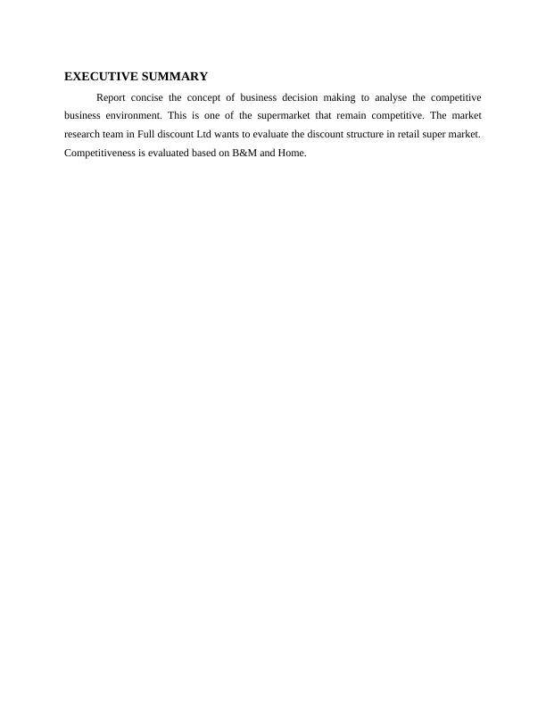 Concept of Business Decision Making PDF