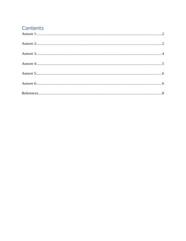 Report on User Interface