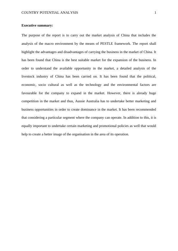 UTS: 21506 International Business Capstone