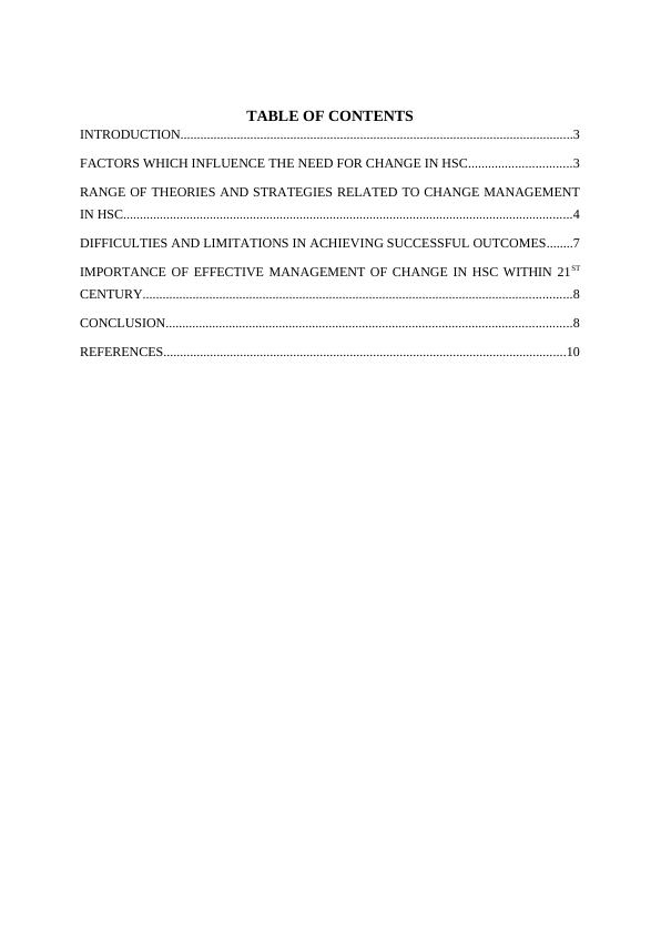 Leadership and Management Report- Care Homes