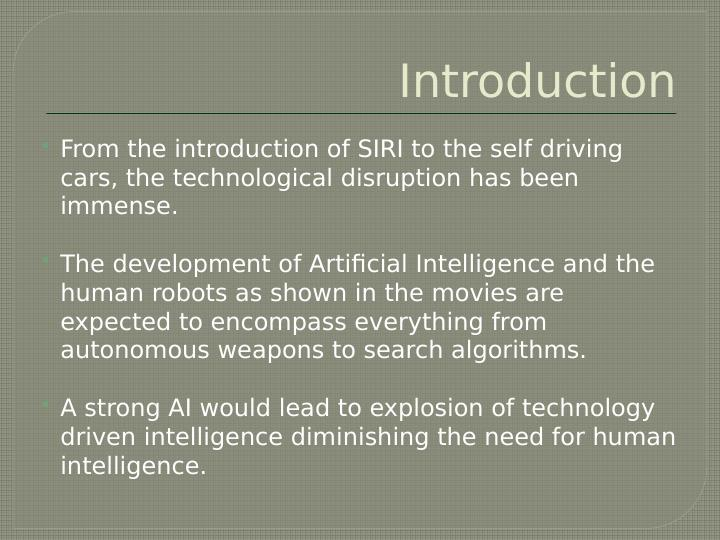 Robots and Artificial Intelligence - PDF
