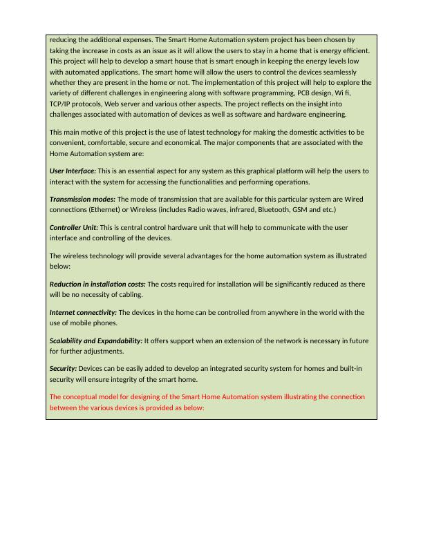 Project Specification Document