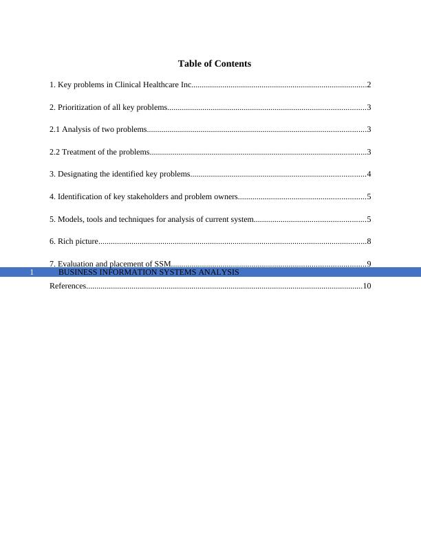 (pdf) Business Information Systems Analysis