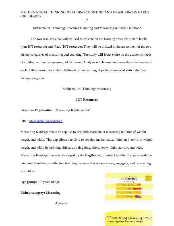 Mathematical Thinking: Assignment