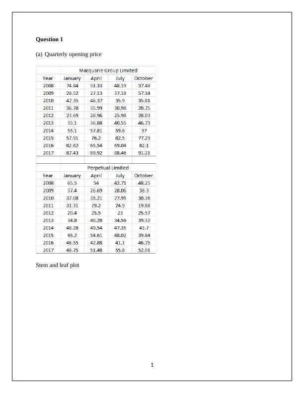 Statistics for Managerial Decision - PDF