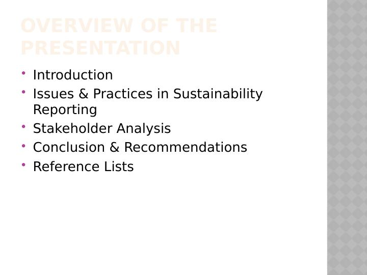 Sustainability Reporting in Accounting: Doc