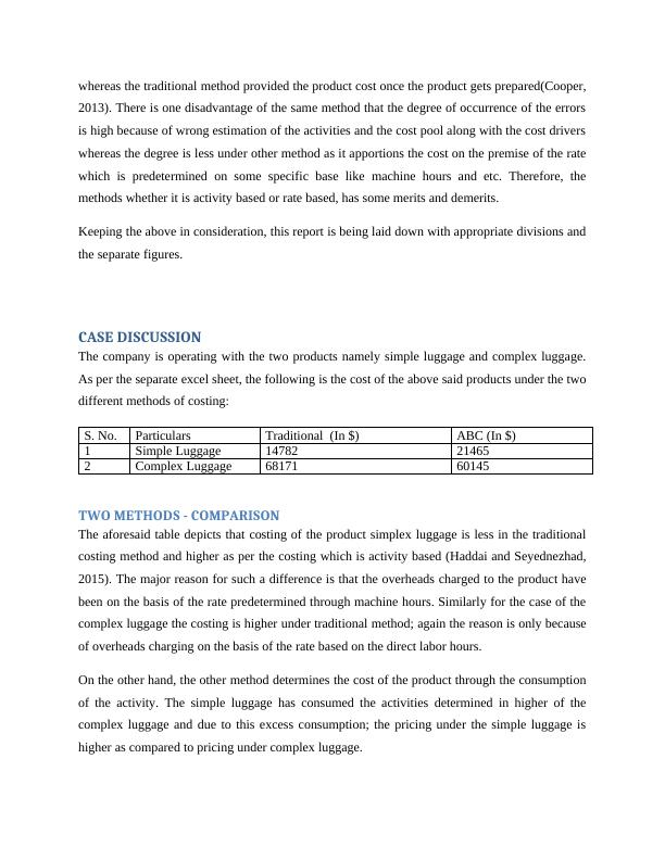 (PDF) Analysis of the Product Cost and Price Variation