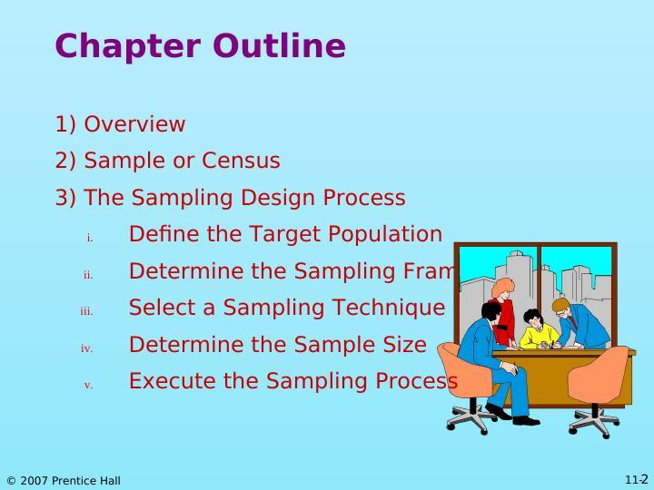 Research: The Sampling Design Process