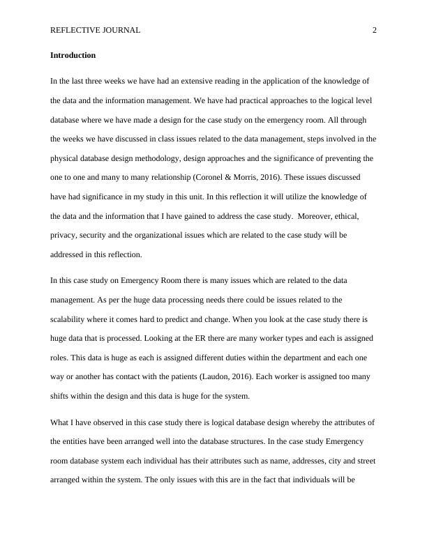 Reflective Journal   -  Assignment PDF