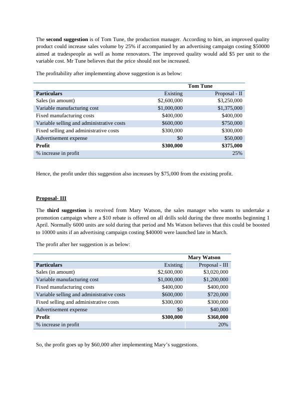 Power Drill Case Study : Bonza Handtools Ltd