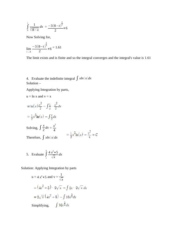 Finding areas by integration PDF