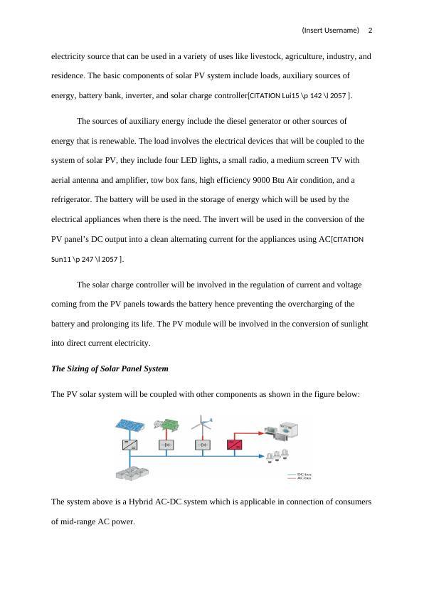 Battery Back-up Designing Paper