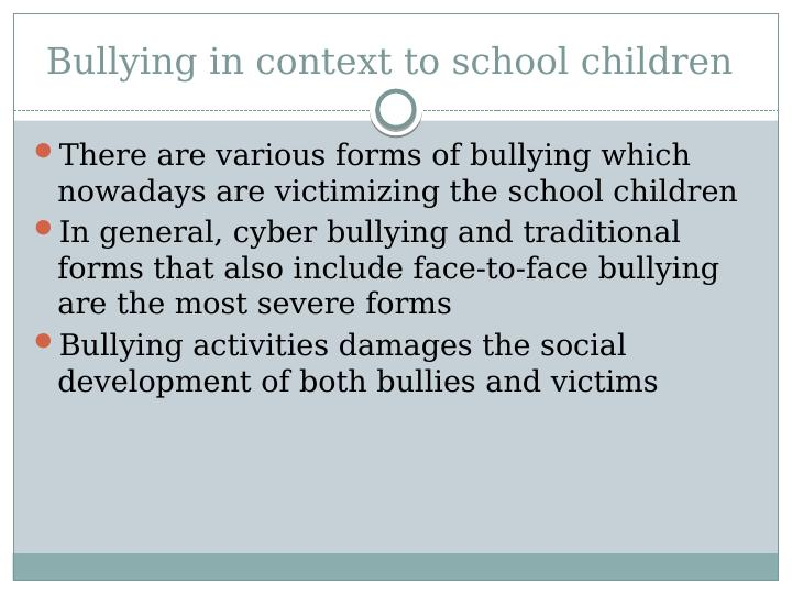 Cyber Bullying Assignment PDF
