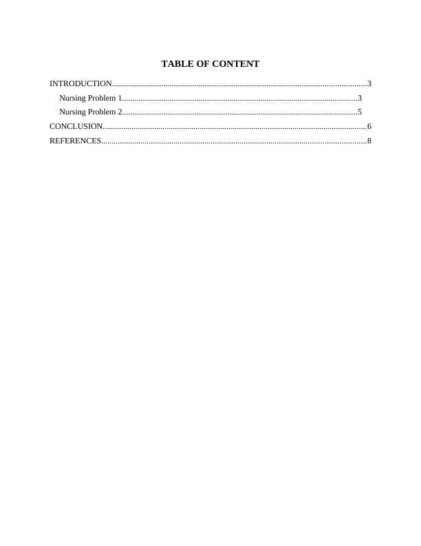 Integrated Nursing Practice : Case Study